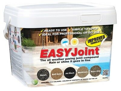 Easy Joint PAVING GROUT - MUSHROOM -  Jointing compound 12.5 kg