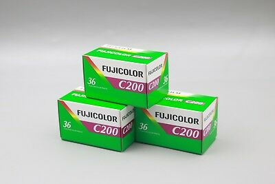 10Roll Fuji C200 Film Fujicolor 35mm Colorful Fujifilm 36 Exp 2021