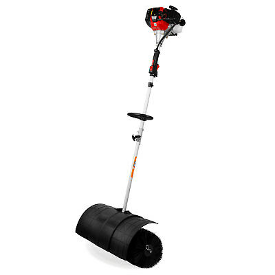EBERTH 3 HP Petrol powered sweeper gasoline engine power broom brush cleaner