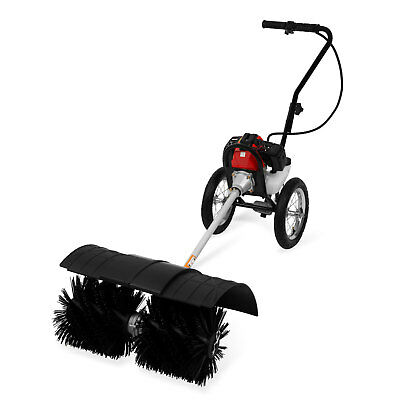 EBERTH 3 HP Petrol powered sweeper gasoline engine broom brush cleaner Chassis