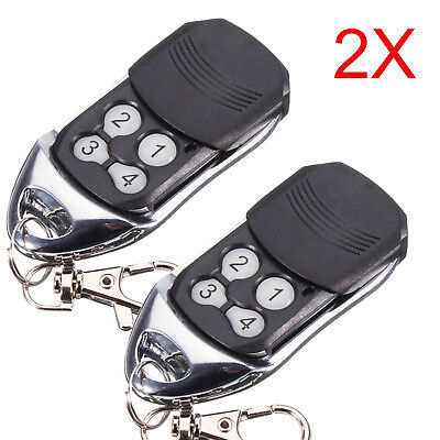 2 x Remote Control For ATA PTX-4 SecuraCode Compatible Garage Door Replacement