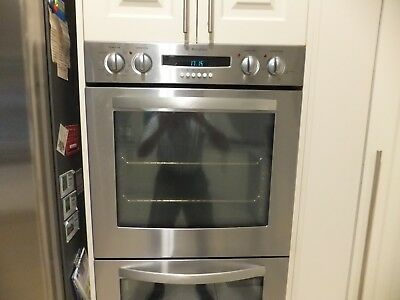 Westinghouse electric double oven