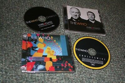 The Who Endless Wire & Glass Pete Townshend Roger Daltrey Cd