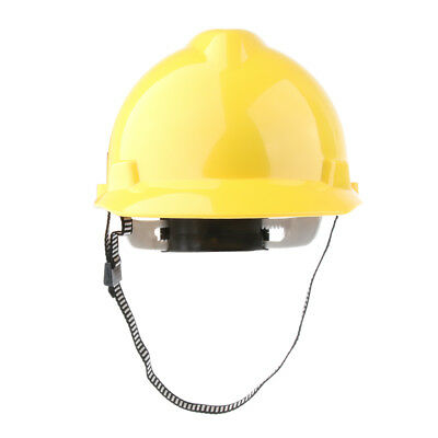 Adjustable Hard Hat Forestry Safety Helmet Work Protective Cap- Yellow