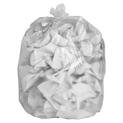 Extra Heavy Duty Strong Thick Clear Eco Friendly Bin Liners Bags Refuse Sacks