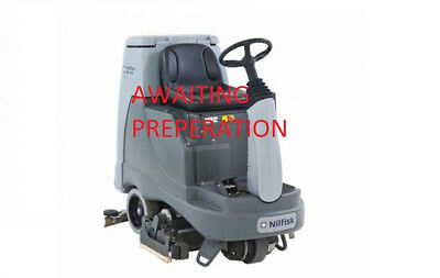 Nilfisk BR855 Ride On Scrubber Dryer - Floor Scrubber