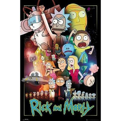 Rick And Morty Poster Wars 245 Maxi Poster Brand New Fast Dispatch