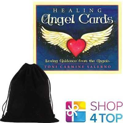 Healing Angel Oracle Deck Cards Esoteric Blue Angel New With Velvet Bag New