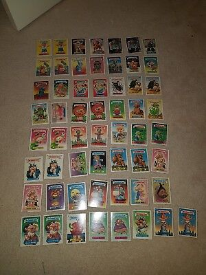 Garbage Gang Australian Series 3 near complete set Sharp and Clean condition