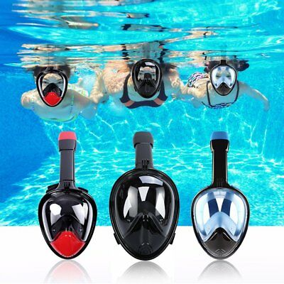 Swimming Diving Snorkeling Vision Scuba Full Face Snorkel Mask for Action Camera