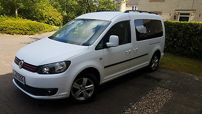 Volkswagen Caddy Maxi Life 1.6 Tdi WHEELCHAIR DISABLED ACCESSIBLE VEHICLE