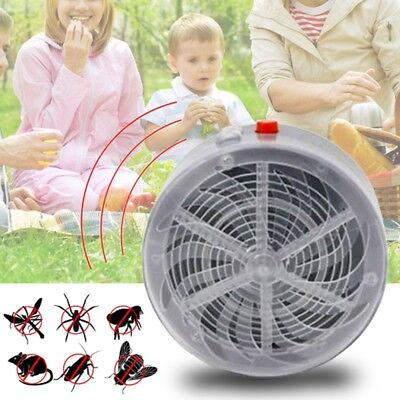 3X(Insect Camping Moth Solar Mosquito Lamp Fly Light Bug Killer Weed & Pes T1C6)