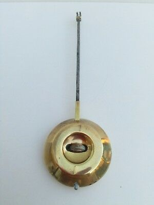Vintage Brass  and Metal Clock Pendulum with Hook for Parts Spares,Pressed No-48