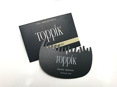 Toppik Hairline Optimizer - For Hair Fibres loss growth comb - Free UK Delivery