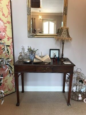 Antique Victorian Ladies Desk Elegant Writing Table with drawer PICKUP NOTTS a/f