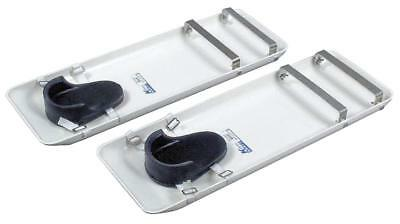 Pair of Kraft Tool Concrete Sliders Lightweight Knee Boards NEW! FREE SHIPPING!