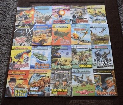 Job Lot Of 20 Commando War Comics #2
