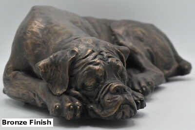 Boxer Dog Pet Memorial Ashes Urn this casket will store all the cremains