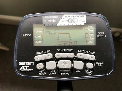 Garrett AT Pro International Metal Detector plus Garrett pro pointer 2 and more