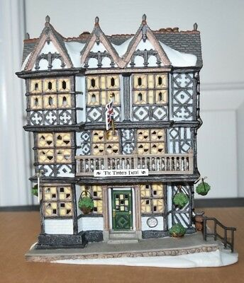 Dept 56 Dickens' Village The Timbers Hotel Limited Collector's Edition