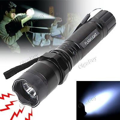 Electric Shock 360.000 W + Security Battery Lamp Flash  -For Self Defense