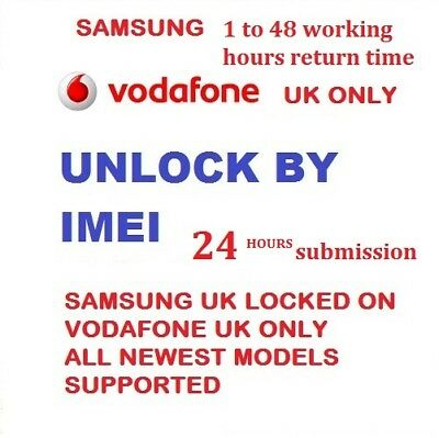 Vodafone Uk Unlock Code For Samsung A3 2017 A5 2017 J3 2017 J5 2017 J7 2017