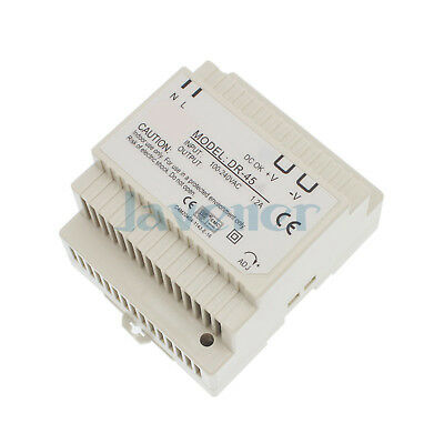 45W Output 12VDC 3.5A Din Rail Mounted Industrical Switch Power Supply Supplier