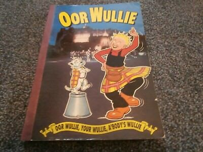 Oor Wullie annual from 1992.