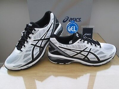 Asics Gel Gt-1000 5 Mens White Black Silver Course Running Trainer Size 10 Eu 45