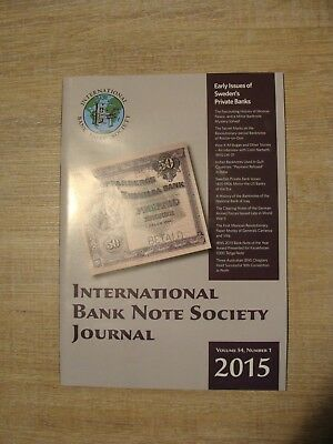 IBNS Journal - 4 Hefte Jahrgang 2015 - in English - used, but clean