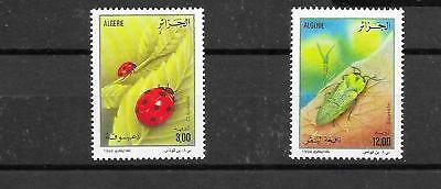 ALGERIA 1994 INSECTS SET SG1155,1156 umm CAT £2.40 (REF2)