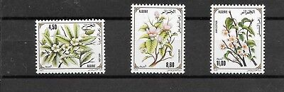 ALGERIA 1993 FRUIT TREE BLOSSON SER SG1120-1122 umm CAT £4.00