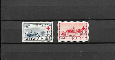 Algeria 1952 Red Cross Set Sg320,321