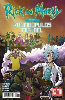 Rick and Morty Presents Krombopulos Michael variant IN HAND