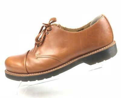 The Original Dr Martens Mens Shoes Oxfords Brown Tan Leigh Air Wair 14 EU 48