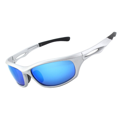Polarized Sports Sunglasses TR90 Frame for Cycling Fishing Golf Baseball Running