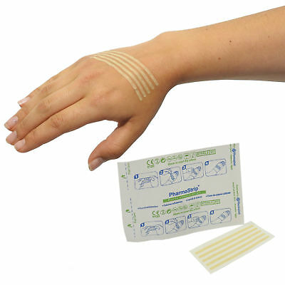Medical Adhesive Cut Sterile Wound Closure Sutures Strips 3x75mm 10 Packs of 10