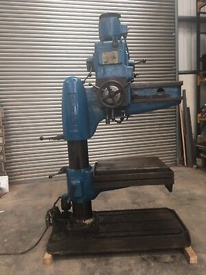 Qualters & Smith Kerry R3 Radial Arm Drill