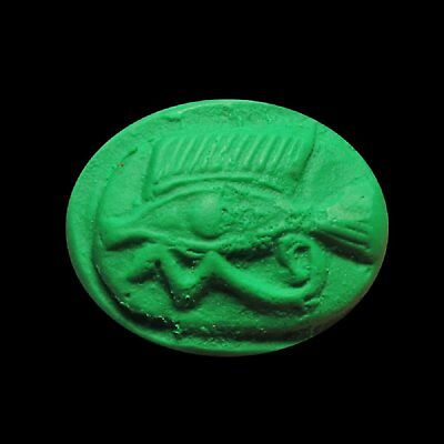 Egyptian Mould Fish w/Eye of Horus 400-300 B.C. Certificate Authenticity