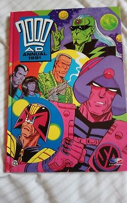 2000AD 2000 AD Annual 1991 Book Comic Science Fiction