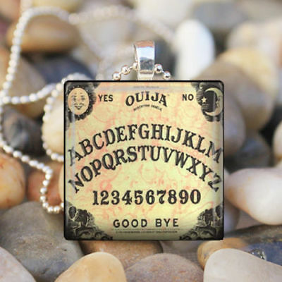 Ouija  and Board  Pendant Necklace New Classic Design Bold Mystic