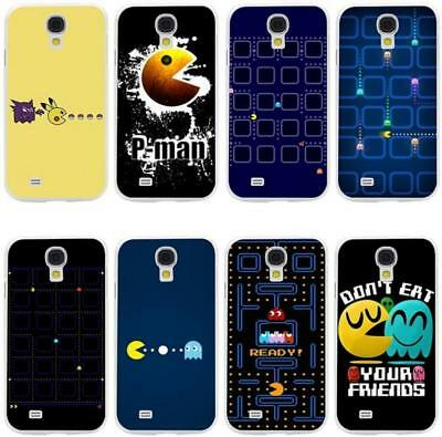 Cute Pacman Eating Phone Cover Case for Samsung Galaxy A6 S5 S6 S7 Edge S8 S9