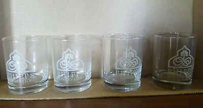 4 Phipps Conservatory Glasses