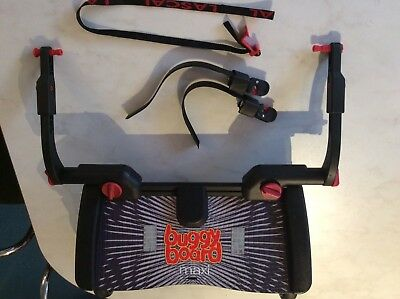 Lascal Maxi Buggy Board With Uncut Connector Straps