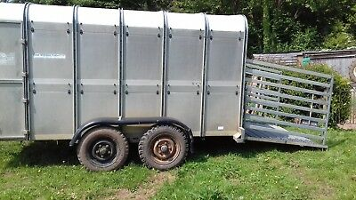 Ifor Williams Ta510 12Ft Livestock Trailer