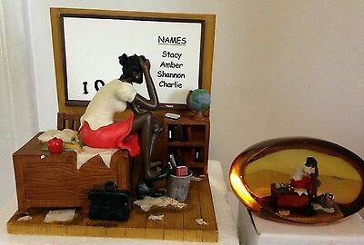 Annie Lee 5th Grade Substitute Limited Edition Figurine & free Paperweight 55.00