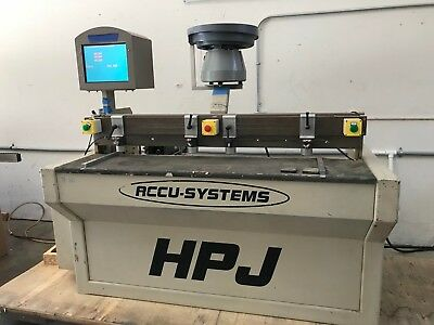 Accusystems HPJ CNC Drilling machine