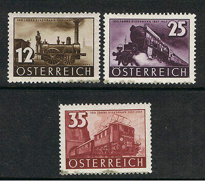 Austria 1937 Centenary Of Railroad