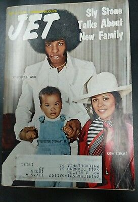 Jet Magazine October 3, 1974 Sly Stone