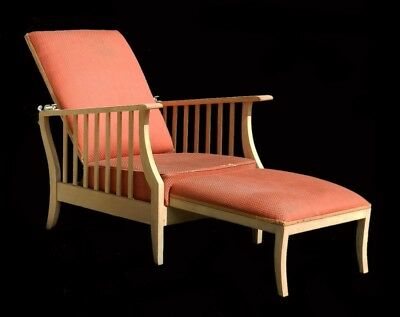 Arts & Crafts Morris Chair Folding Art Deco Reclining Armchair Lounger Mission
